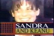 Sandra Bullock & Keanu Reeves KISS ( RARE VIDEO !!! )
