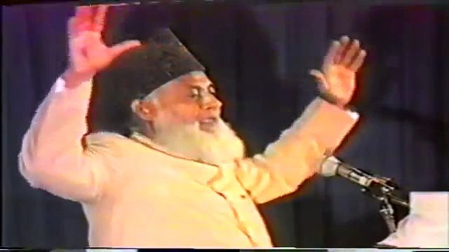 """Dr Israr Ahmed exposing the biggest Shirk of 21st Century """"Nationalism"""""""