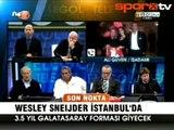 F.Bahçe ve Sneijder! Soruşturmayı da sormuş!..