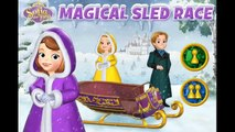 Sofia The First Magical Sled Race Games For Kids - Gry Dla Dzieci