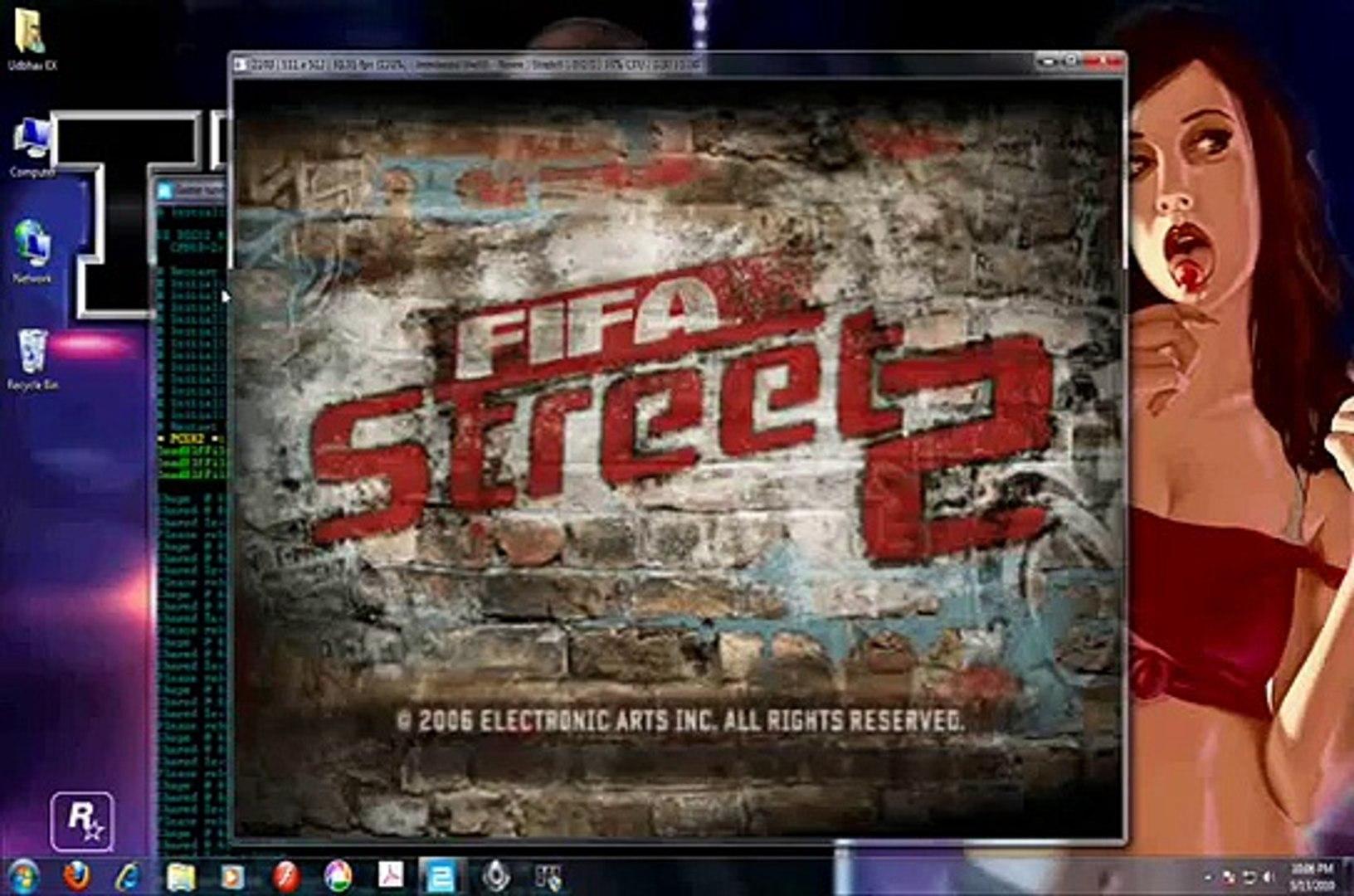 PCSX2 - FIFA Street 2 (100% Full Speed) Running on PC