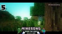 Top 5 Minecraft Song - August 2015 Best Minecraft Songs Animations Parody Parodies 2015