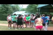 Weight Loss Camps | Camp Shane Kids enjoy an aerobic session at weight loss camps