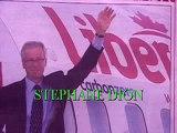 STEPHANE DION..Publicité-Promotion..Un couple de pêcheurs rendent hommage à Stephane Dion