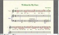 """Wrestling Piano Theme Sheet Music - """"Written in My Face"""" (Sheamus WWE Theme)"""