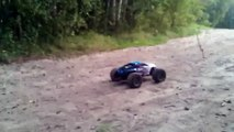 Losi 1/8 LST XXL 2 E Electric-Powered Monster Truck with AVC 3s LIPO