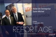[REPORTAGE] Visite de l'usine Saint-Michel