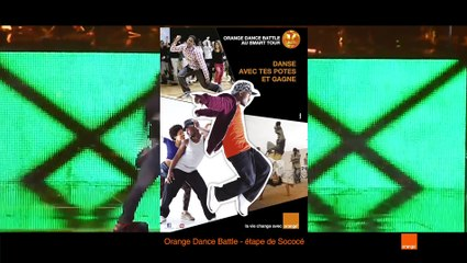 Orange Battle Dance - Etape Sococe