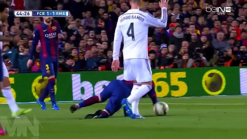 Lionel Messi vs Real Madrid Home HD 720p (22/03/2015) by MNcomps