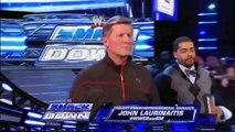 Teddy Long vs John Laurinaitis WWE Smackdown 3/9/12
