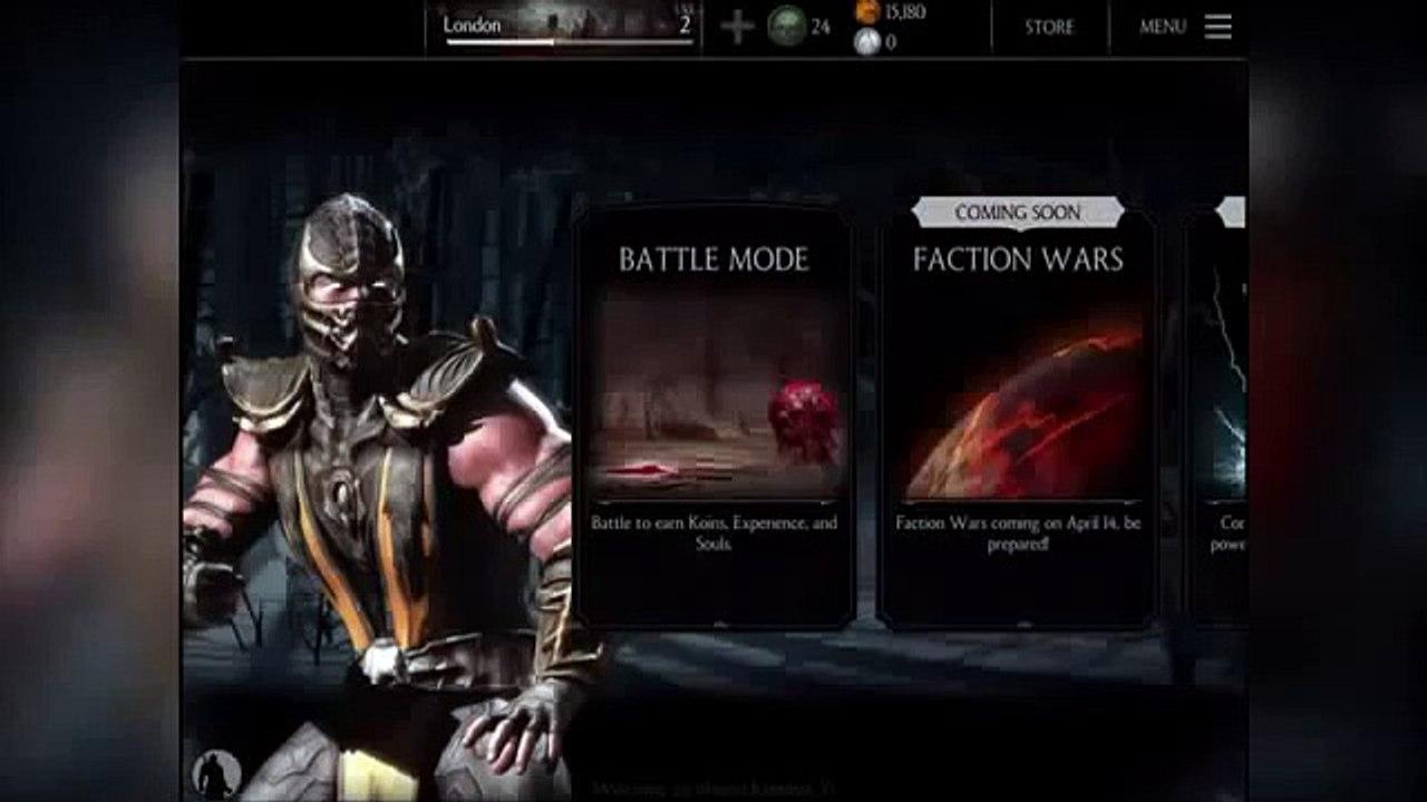 Lets Play Mortal Kombat X Story Mode Blind Part 1