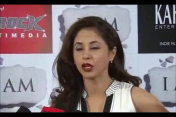 Urmila Matondkar at the success party of the movie I AM.