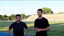Stadium Workouts - Burpees, Stairs, Sprints, Bicycle Kicks, Dips - Week 50