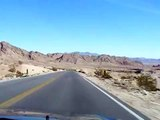 Las Vegas desert highway