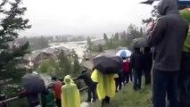 Major Flooding in Calgary Alberta   June 20st 2013   Southern Alberta, Canada