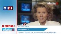 Zapping. Claire Chazal, 24 ans de journaux télévisés