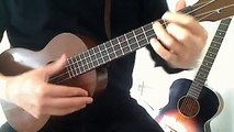 Somewhere Over the Rainbow Ukulele Chord Melody (Solo Ukulele)