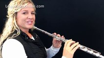 how to hold the flute tutorial | Learn Flute Online Flute Lessons with Rebecca Fuller