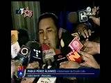 Gobernador del Zulia pablo perez defiende actos violentos de los estudiantes opositores. Chavez: el que salga al trancar calles va preso, el Chavez Pendejo se quedo en el 2002, no voy a permitir q 4 escualidos embochinchen el país