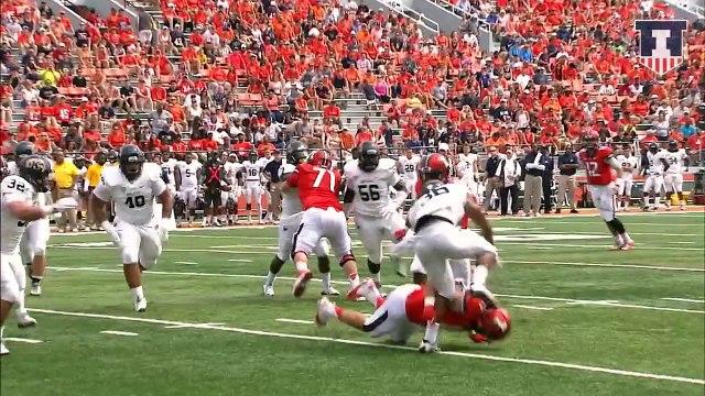 @IlliniFootball vs. Western Illinois   Game 2 Hype Video