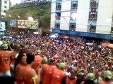 Chiclete com Banana passando pelo Camarote Cerveja & Cia 19/02 Carnaval Salvador 2012