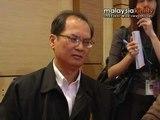 Liu: I don't act based on hearsay...