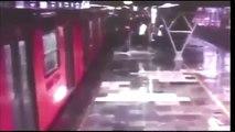 metro oceania choque de trenes camara lenta