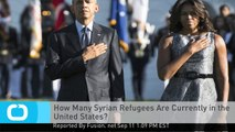 How Many Syrian Refugees Are Currently in the United States?