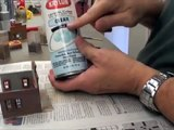 Making a Model Railroad Background Building - part 4: Weathering & Finishing