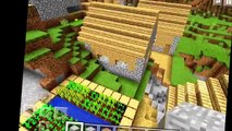 MINECRAFT PE SEED REVIEW VILLAGE SEED 0.11.1