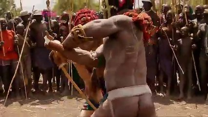 Ethiopian Suri Stick Fighting  - Last Man Standing Part 6