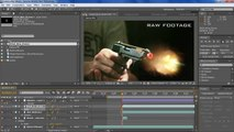 Slow motion Muzzle Flash tutorial After Effects CS5