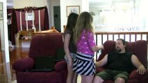 Girls Prank Their Dad and it Backfires Causing a Big Scare! Funny Reality Video | dad pranks girls