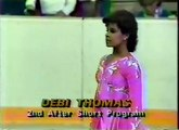 Debi Thomas - 1985 U.S. Figure Skating Championships, Ladies' Long Program
