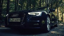 Audi A5 Glidecam 4000 Nikon and Sony A7s