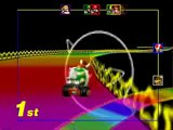 Mario Kart 64 - Toad Trapped in Rainbow Road (GLITCH)