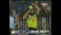 Anwar Win the match for Karachi Blues with a huge six