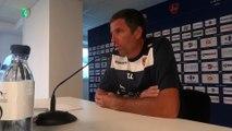 """Conférence de presse d'avant-match avec Thierry LAUREY : """"Quand on va marquer le premier but, ce sera une délivrance pour tout le monde."""""""