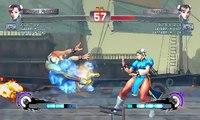 Ultra Street Fighter IV battle: Chun-Li vs Chun-Li