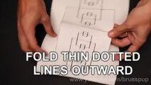 3D étonnants Étapes papier!