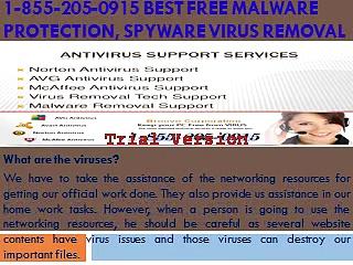 1 855 205 0915 Best Free Malware Protection, Spyware Virus