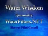 KDF-SHF-WF Shower Filter Installation