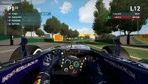 F1 2014 - Career 2nd-run, Albert Park, Infinity Red Bull Racing, Pp2 G&R