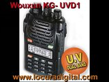 WOUXUN KG-UVD1 WALKIE BI BANDA VHF / UHF !! IMAGENES!!