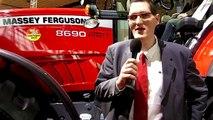 Massey Ferguson 8690 (en Francais) - Agritechnica 2009