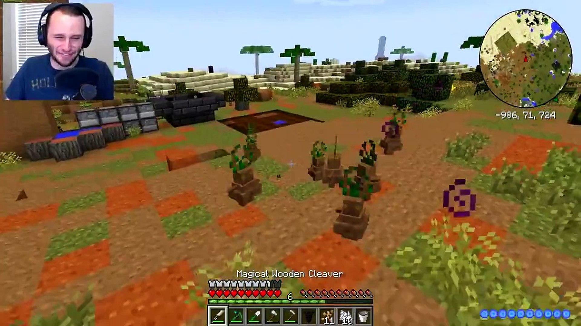 Minecraft: CRUNDEE CRAFT | RITUAL TROLLING!! [8] ssundee