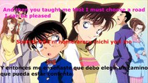 Detective Conan Opening 13 HD Sub englishSub español Until that gentle place I promised you