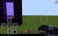 MCPE 0.12.1 - How To Make The Neather Portal