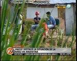 Visión Siete: Unicef destacó la situación de la niñez en Argentina