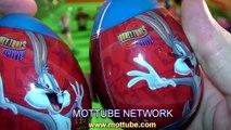 Kinder Surprise Eggs Bugs Bunny Daffy Duck Tasmanian Devil Warner Brothers Looney Tunes